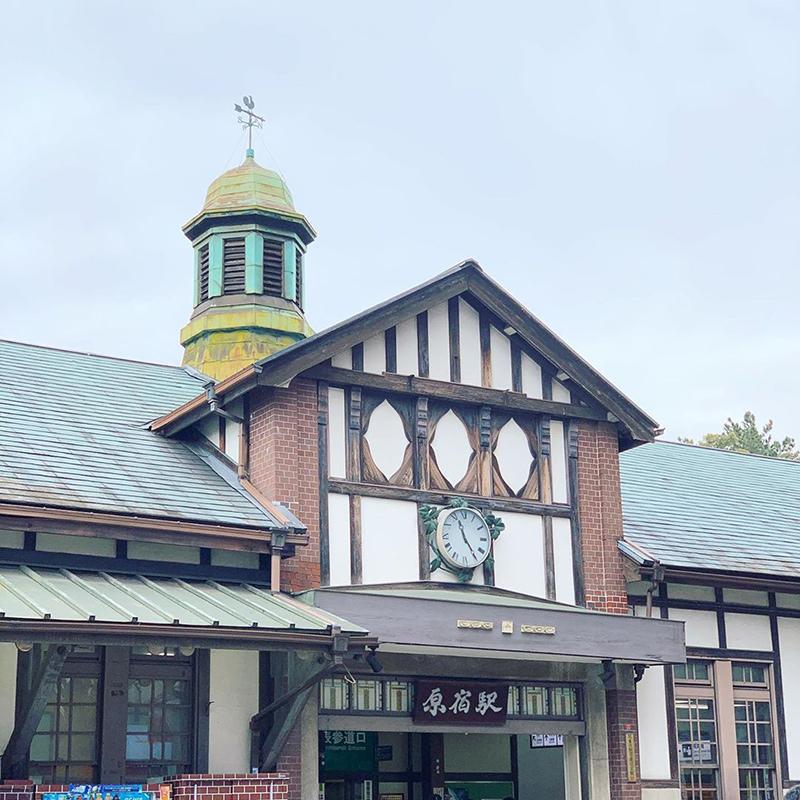 原宿駅の駅舎