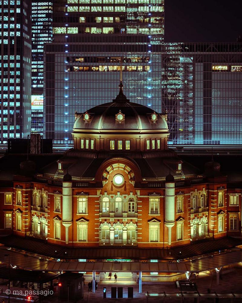 東京駅の丸の内駅舎