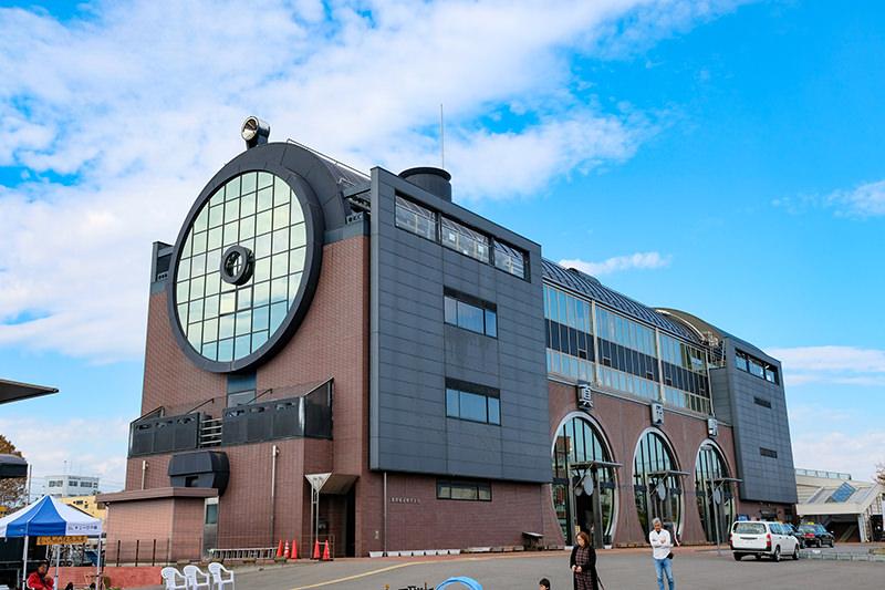 真岡駅の駅舎