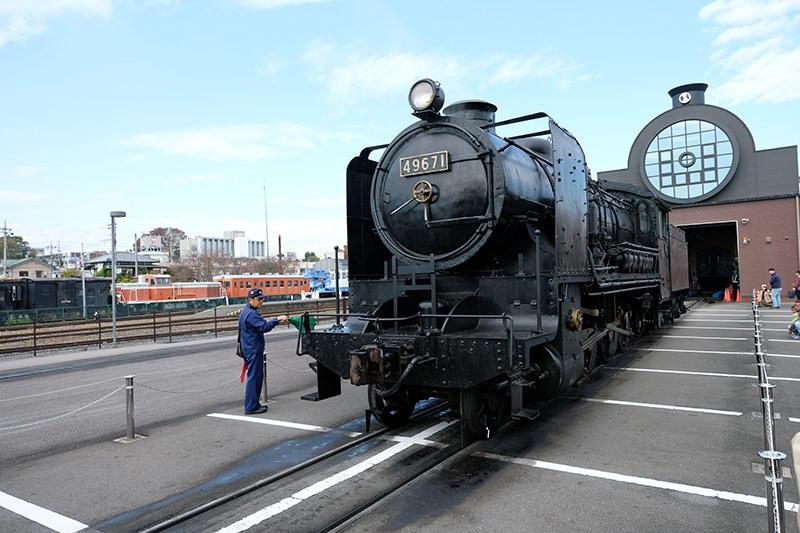 機関車「SL49671」