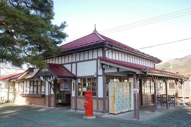 長瀞駅の駅舎