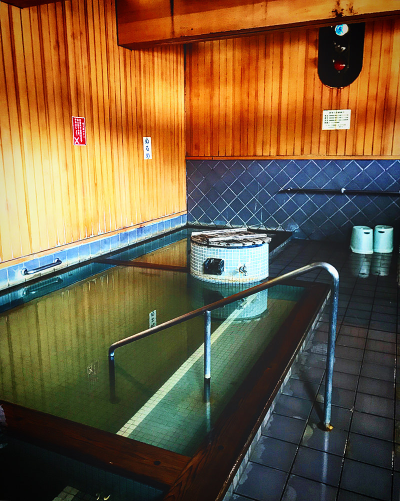ほっとゆだ駅構内にある大浴場