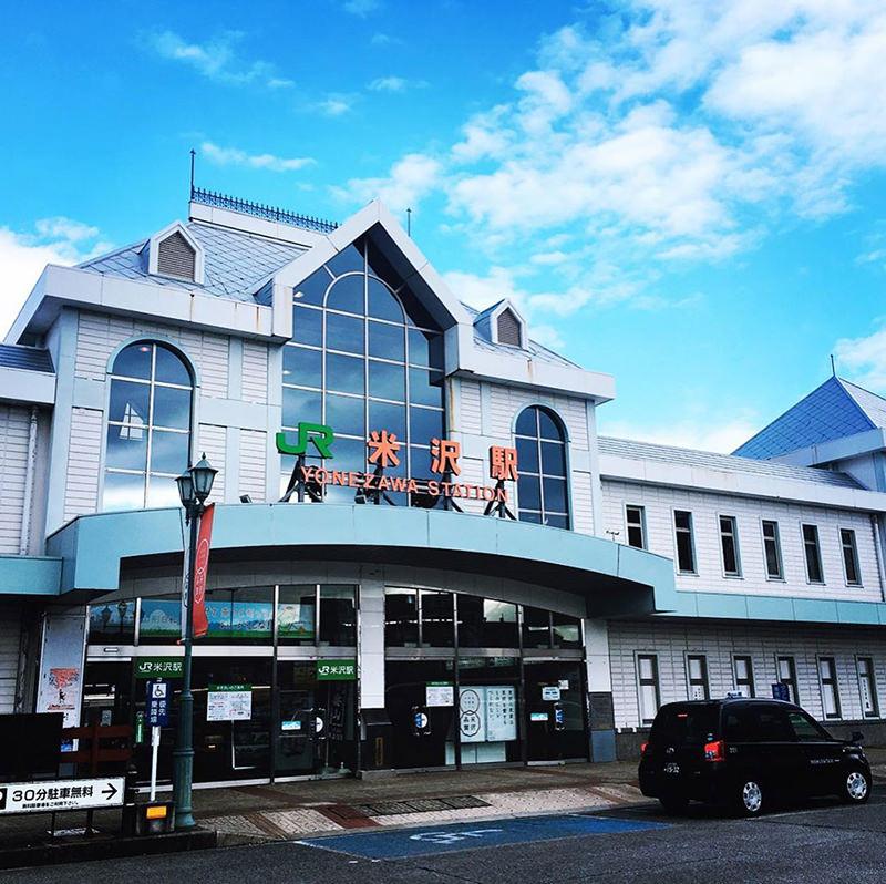 米沢駅の駅舎