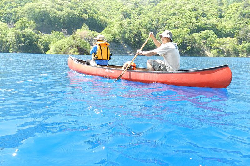 グリーンディスカバリーのカヌー体験