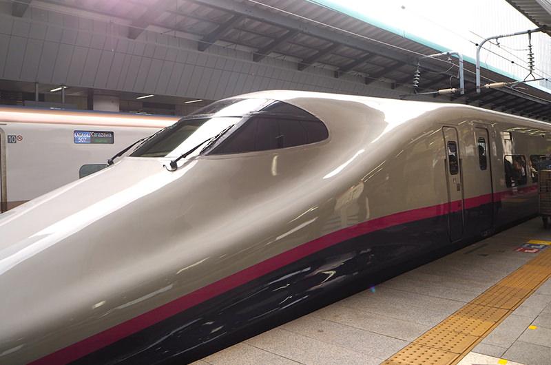 東北新幹線「やまびこ」