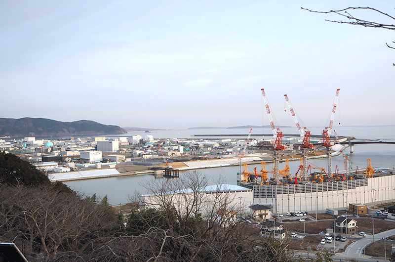 日和山から望む景色