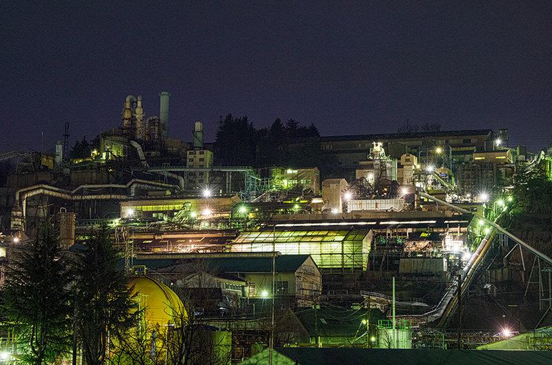 駅のホームから見える工場夜景は必見!上信電鉄の沿線は穴場だらけだった