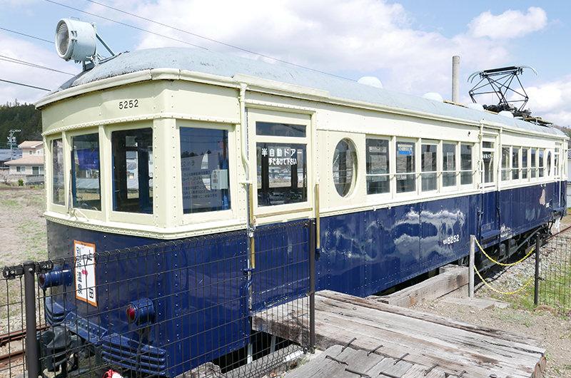 別所線で使われていた車両、通称「丸窓電車」