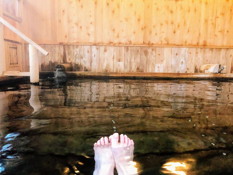 蔦温泉久安の湯の浴槽