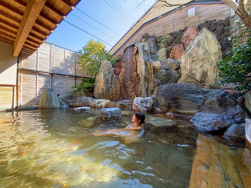 星野リゾート 界 伊東 露天風呂