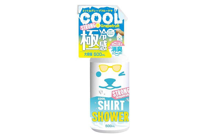 ひんやりシャツシャワー ストロング ミント/グレープフルーツ