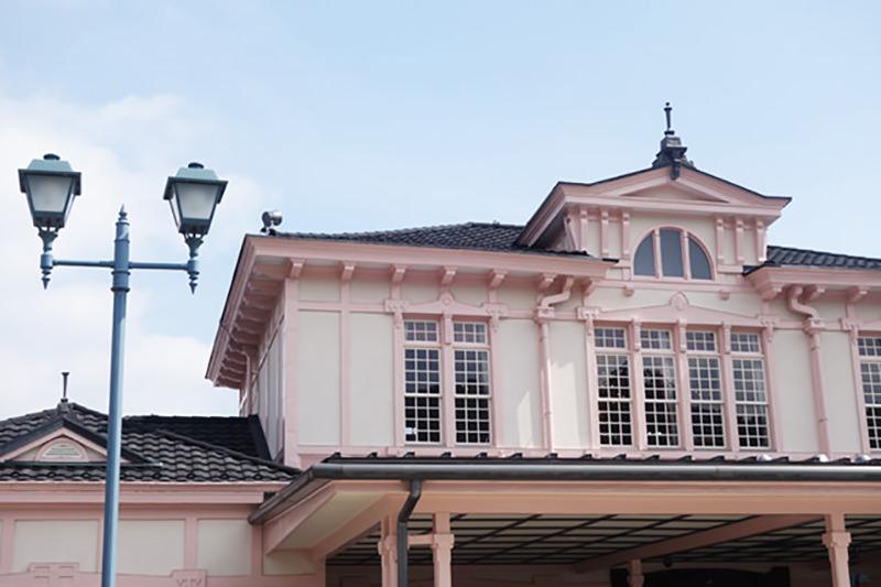 日光駅の駅舎