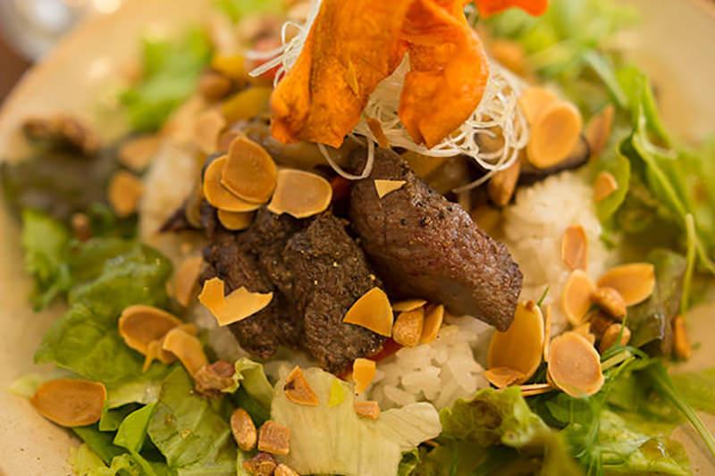 シカ肉の料理