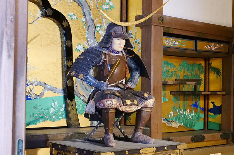 1652年に制作された等身大の「伊達政宗公甲冑倚像」