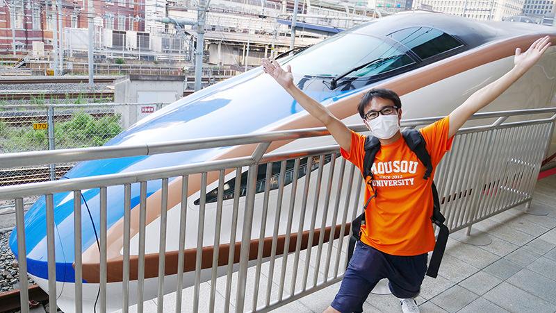 東京駅 筆者