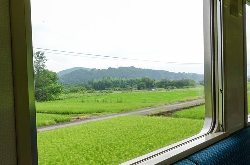 吾妻線 車窓
