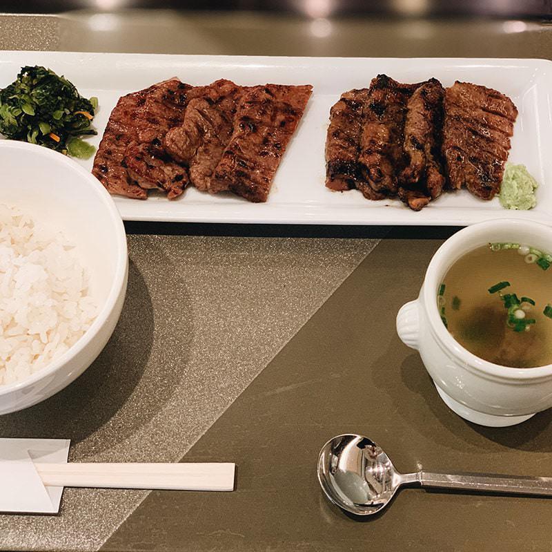 牛たん定食(塩味・柚子胡椒味・MIX)