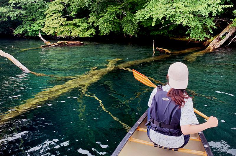 「密」とは無縁!十和田湖と奥入瀬渓流を漕いで歩く、自然満喫の旅