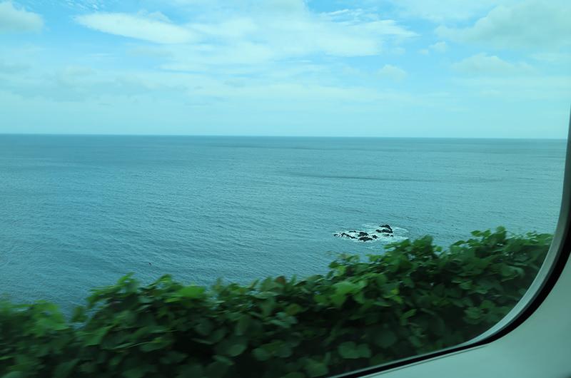 東海道本線の車窓