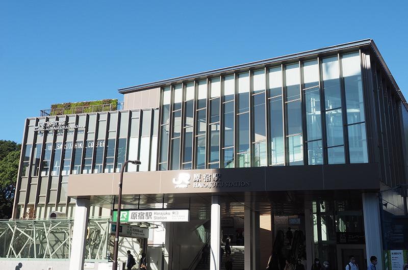 現在の原宿駅
