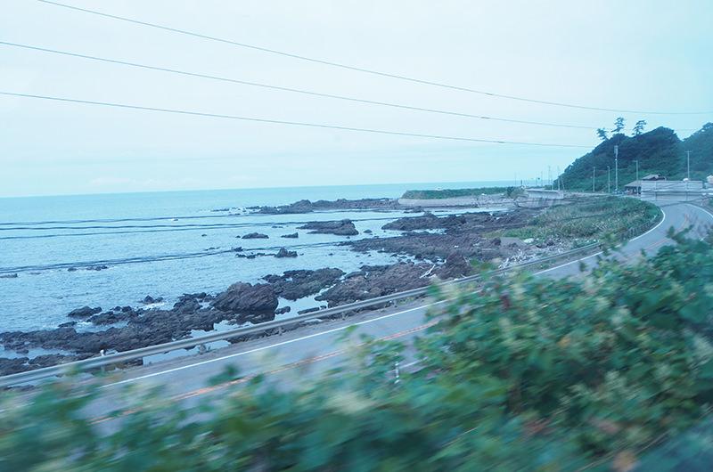羽越本線 車窓