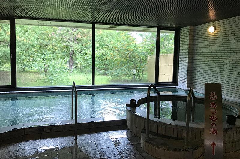 安曇野穂高ビューホテルの大浴場