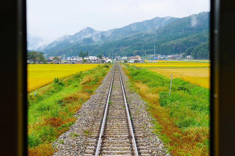釜石線 車窓