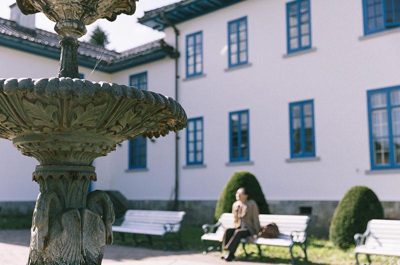 旧イギリス領事館 洋式庭園