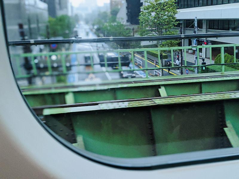 有楽町近辺の車窓