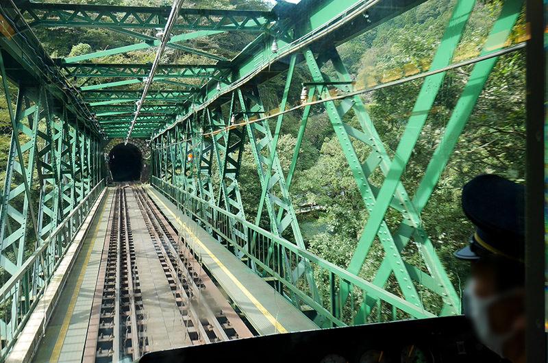 箱根登山電車 鉄橋
