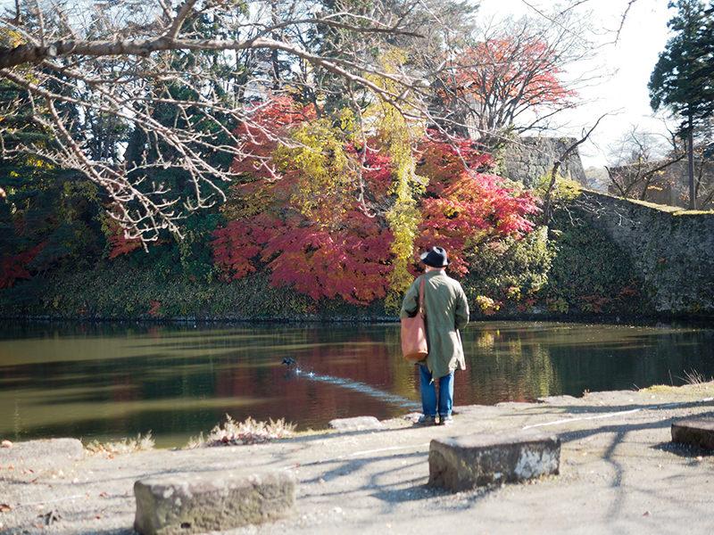鶴ヶ城のお堀