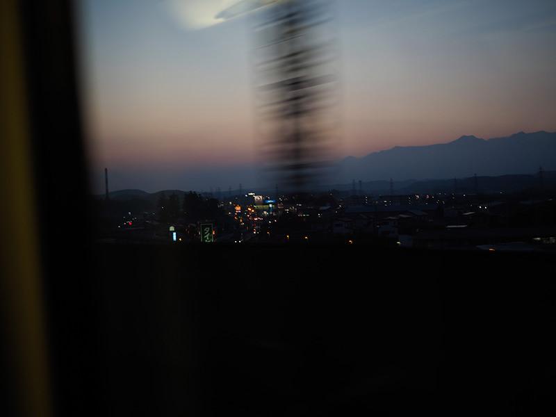 磐越西線 車窓