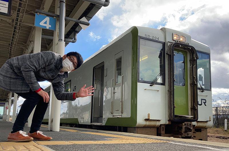 今泉駅 米坂線