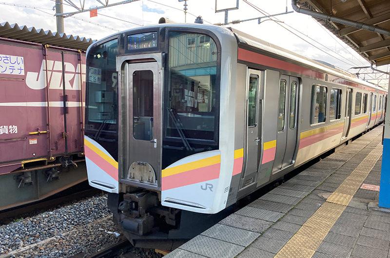 羽越本線 村上駅