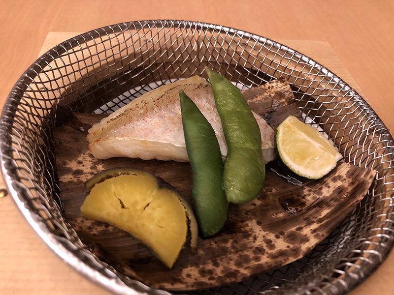 鯛の白柚子庵焼き