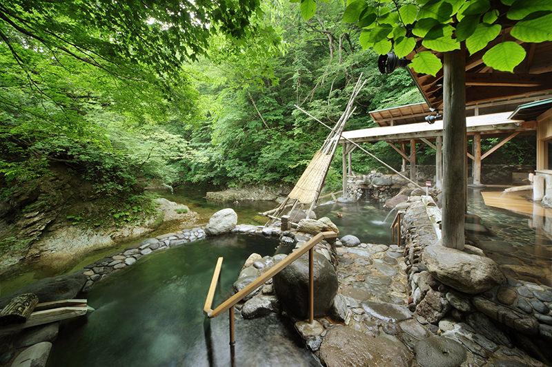 広瀬川源流露天風呂