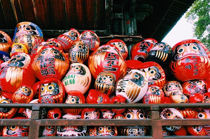【2021年】縁起を担ぐ、群馬「少林山達磨寺」への旅