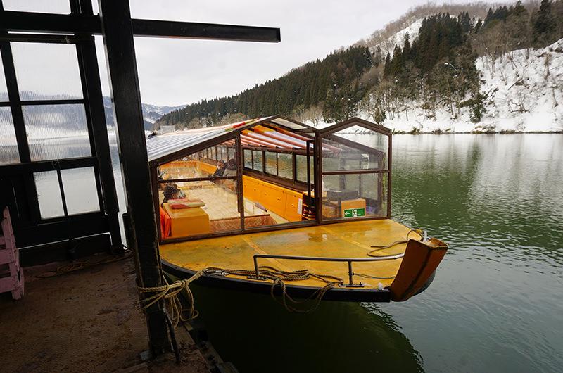 舟下りの舟