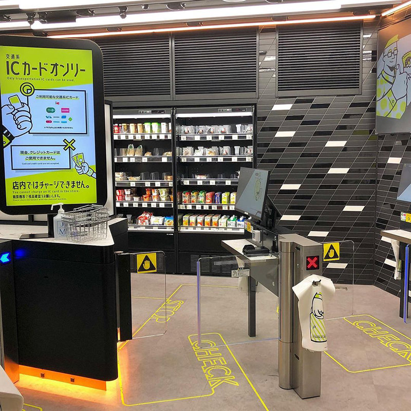 「TOUCH TO GO」の店舗入口