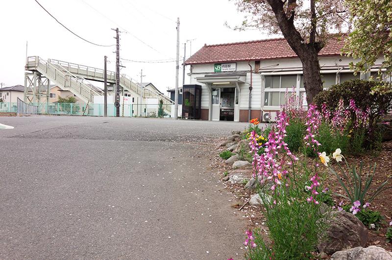 八高線沿線の丹荘(たんしょう)駅