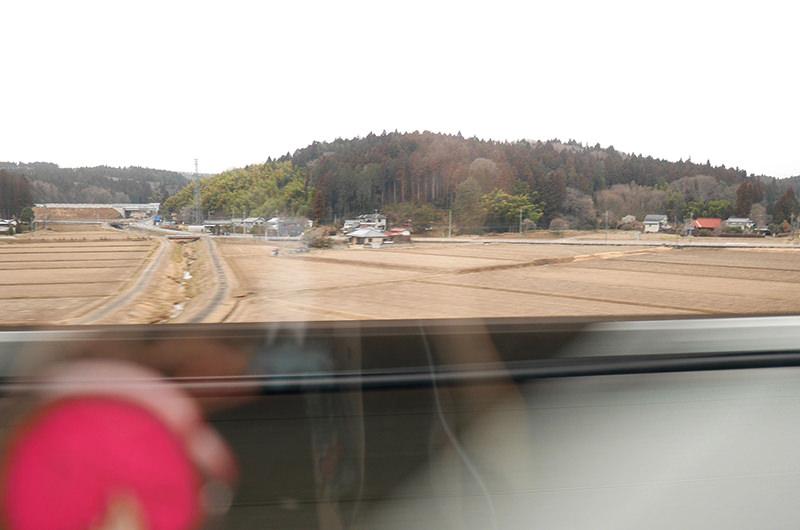東北新幹線 はやぶさ 車窓