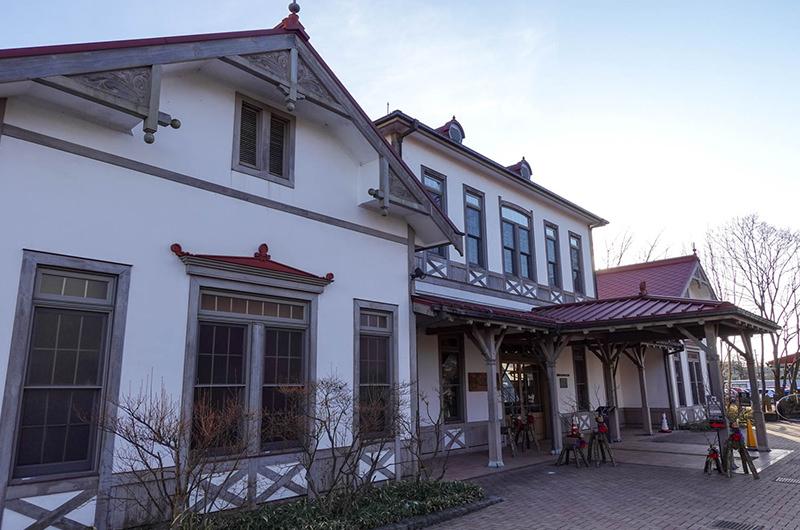 しなの鉄道軽井沢駅 旧駅舎口