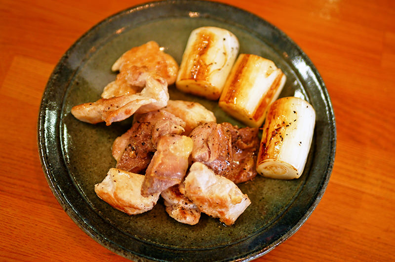 山形地鶏の塩焼き