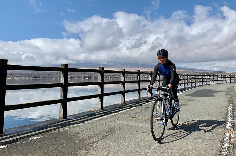 山中湖サイクリングロード
