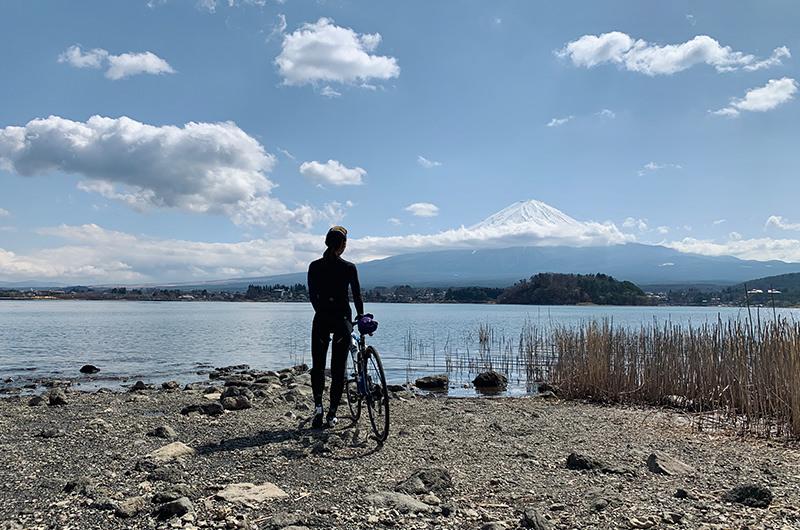 大石公園から望む富士山