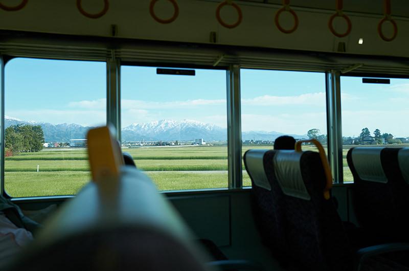 あいの風とやま鉄道線 車窓