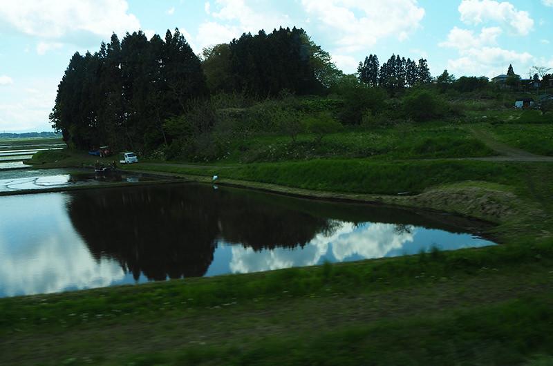 青い森鉄道 車窓