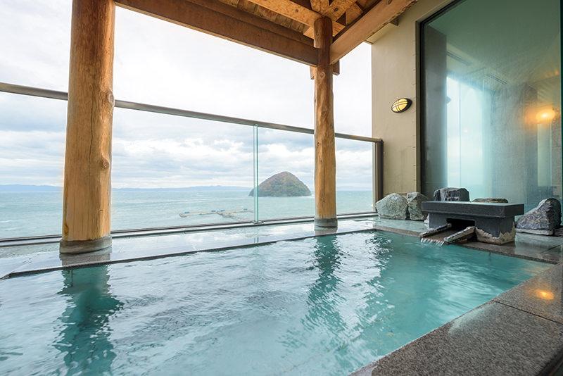 展望浴場 露天風呂