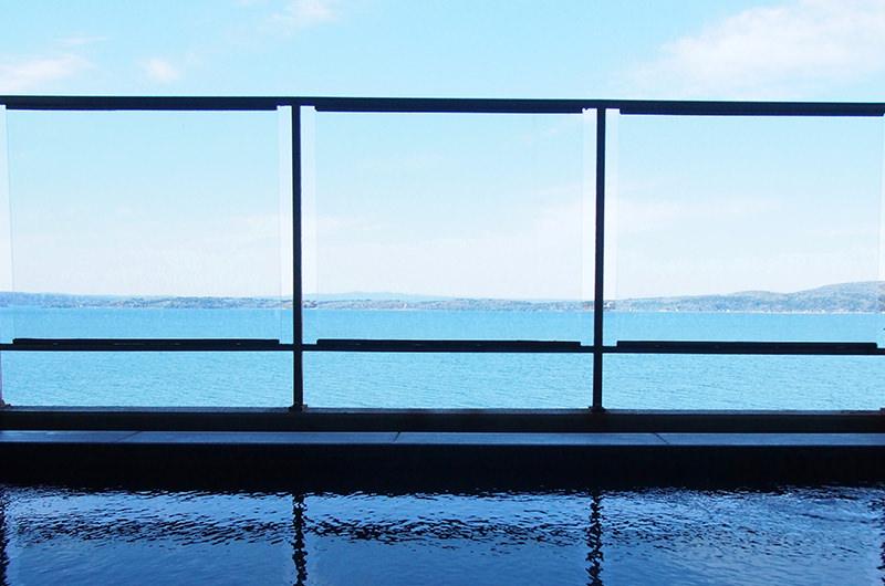 おこもり旅で【和倉温泉・虹と海】へ。温泉と眺望に癒やされる