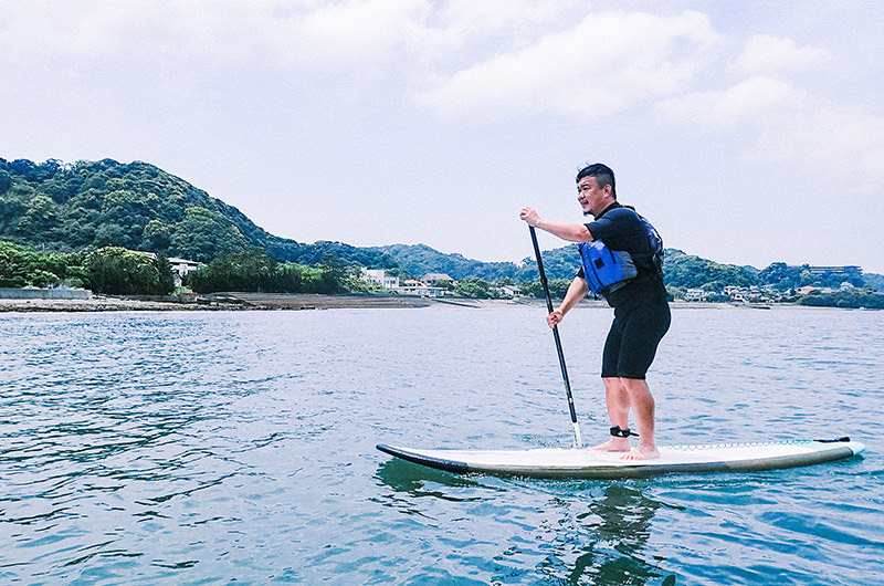 千葉・館山【SUP体験・サイクリング】を満喫するアウトドアな旅